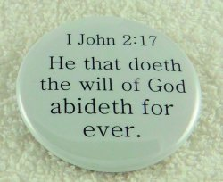 He that doeth the will of God