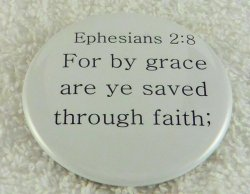 For by grace are ye saved
