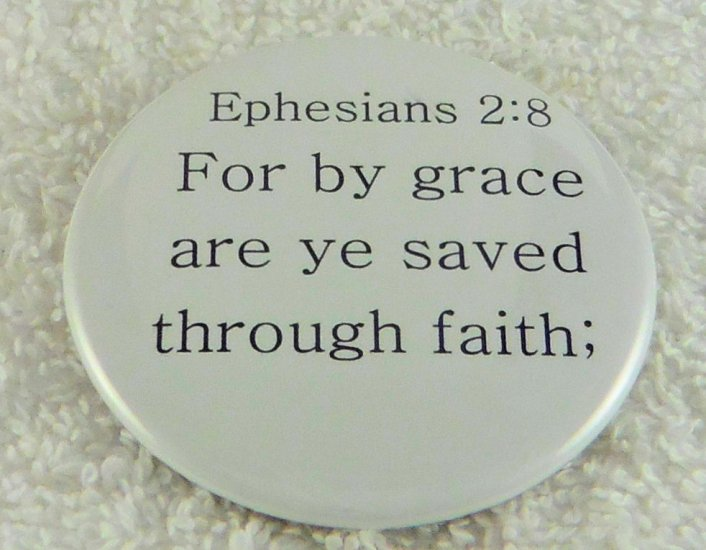 For by grace are ye saved - Click Image to Close