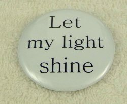 Let my light shine