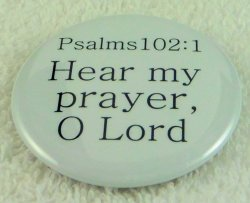 Hear my prayer bcv0025