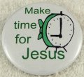 Make time for Jesus