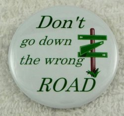 Don't go down the wrong ROAD