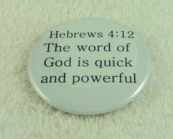 For the word of God is quick bcv-0020