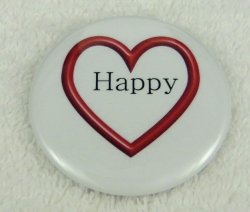 Happy open heart