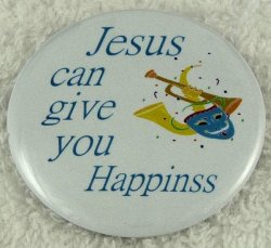 Jesus can give you happiness