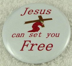 Jesus can set you free