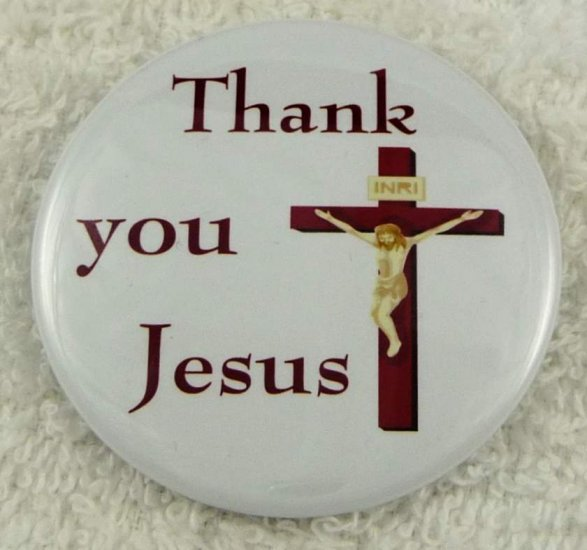 Thank you Jesus - Click Image to Close