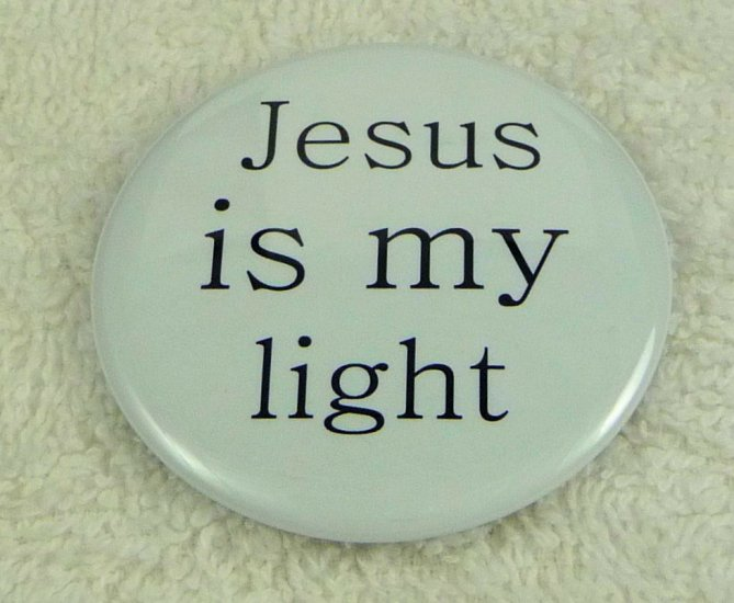 Jesus is my light - Click Image to Close